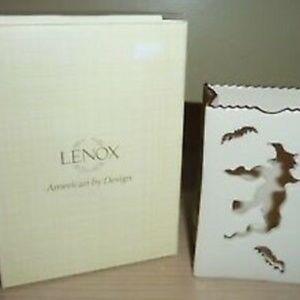 Lenox Flying Witch Votive Decorative CandleHolder